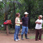 daphne and gama in guaymi village