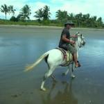 horseback ride Playa Las Lajas