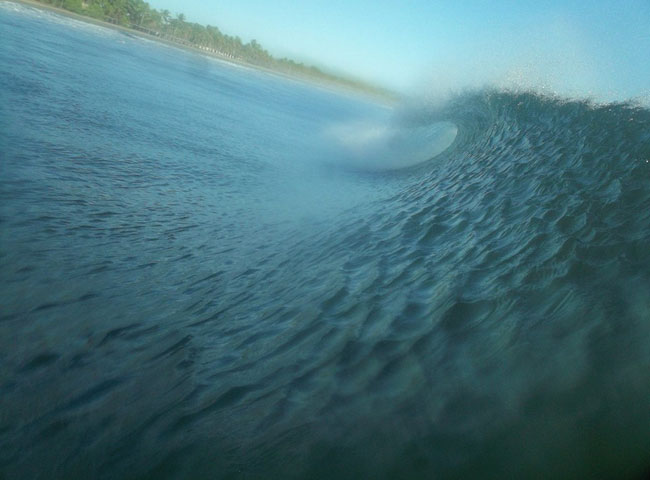 body board grande onda