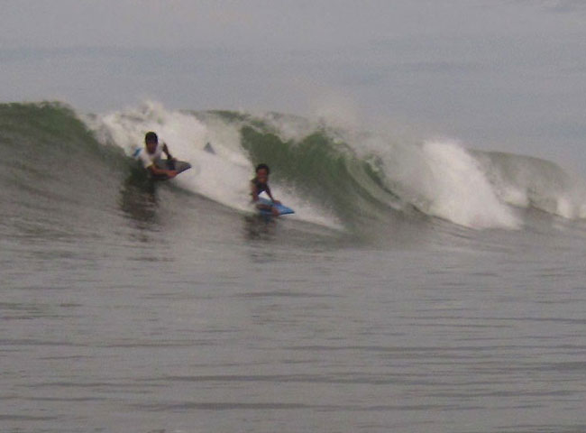 body board big wave