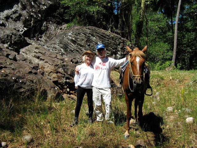 horseride couple